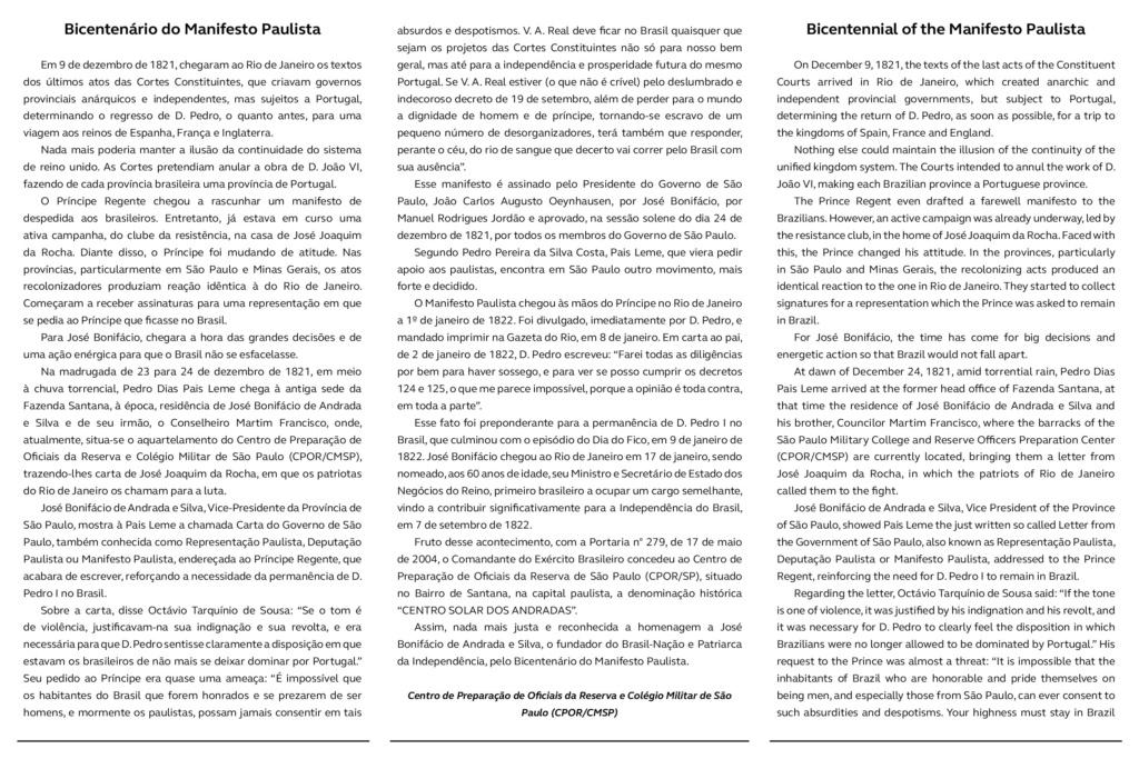 BICENTENARIO DO MANIFESTO PAULISTA Edital15