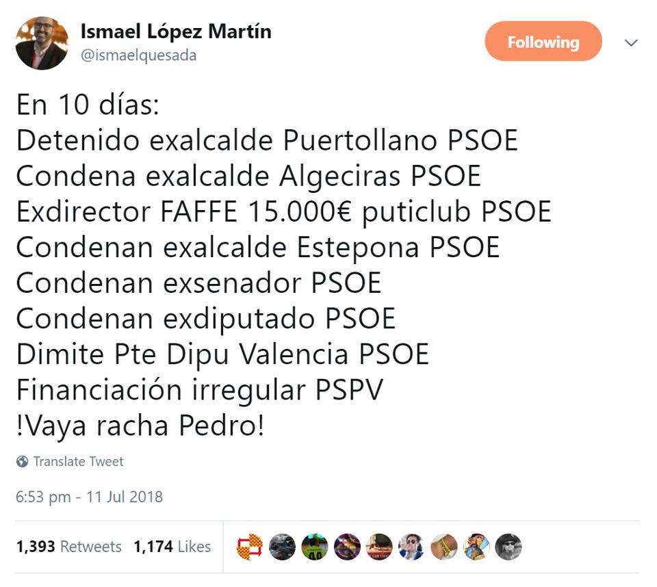 Sanchez - El PSOE acumula 64 causas de corrupción más que el PP 3corru10