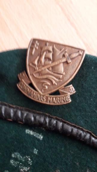 Insigne Commandos Marine numéroté 20210515
