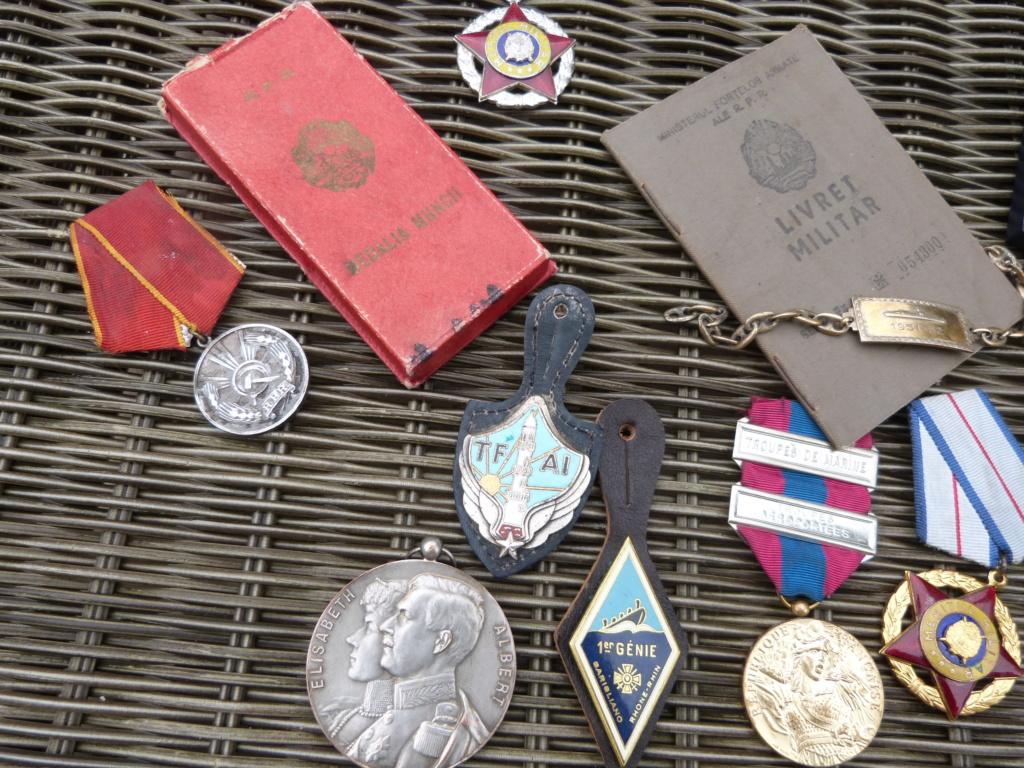 Derniere peche à Bucarest : medailles F, Belge, marine, caque colo ... P1060824