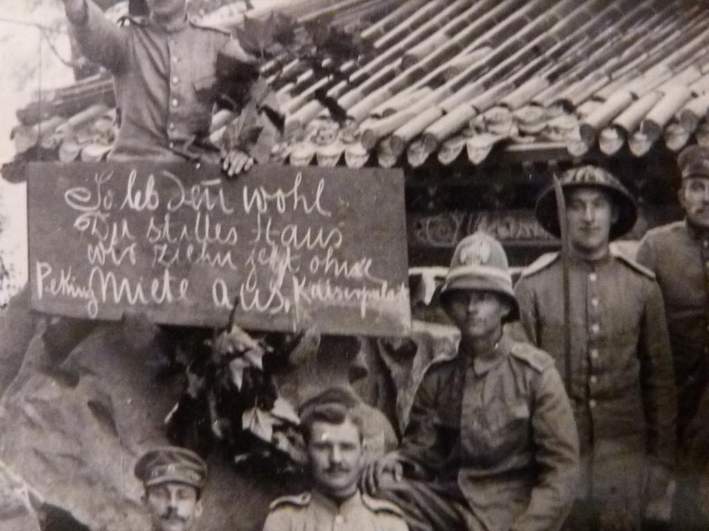 photo à identifier armée allemande en Chine Revolte des boxers ? P1060925