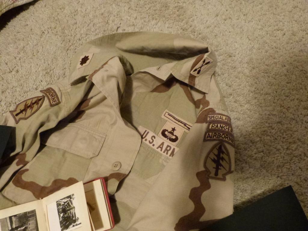 Petit Album Luft, litho, veste US Desert storm Special Forces P1060953