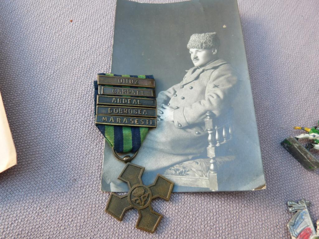 Chine a Bucarest : croix guerre roumaine, belle photo, marine, CP à identifier P1070528