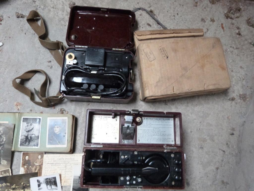 Dernieres trouvailles à Bucarest : aviation, troupe, telephonie P1070974