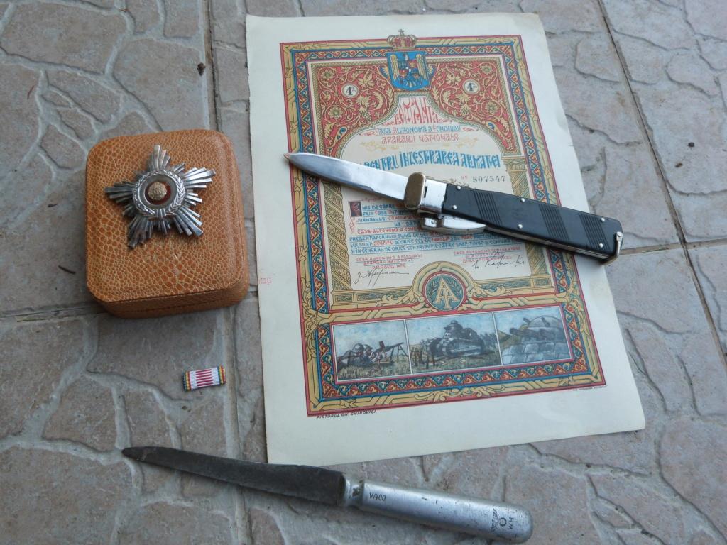 1 ere chine de l'année à Bucarest : allemand, couteau para, et divers P1080314