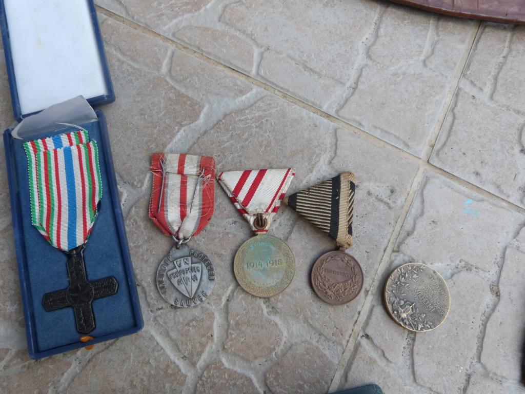 Divers aviation, fond tiroir Alld WW2, médailles P1080420