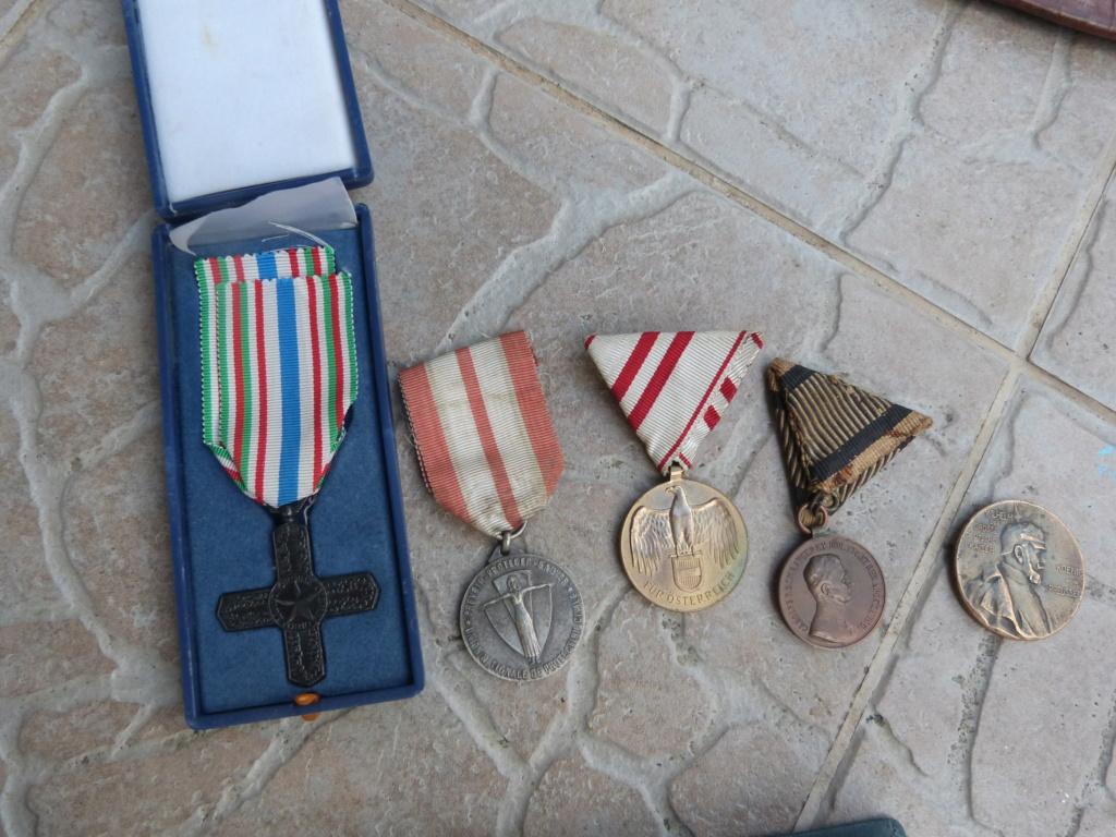 Divers aviation, fond tiroir Alld WW2, médailles P1080421
