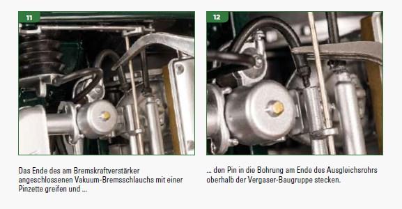 Der Jaguar E-Type von DeAgostini in 1:8 - Seite 4 Vakuum10