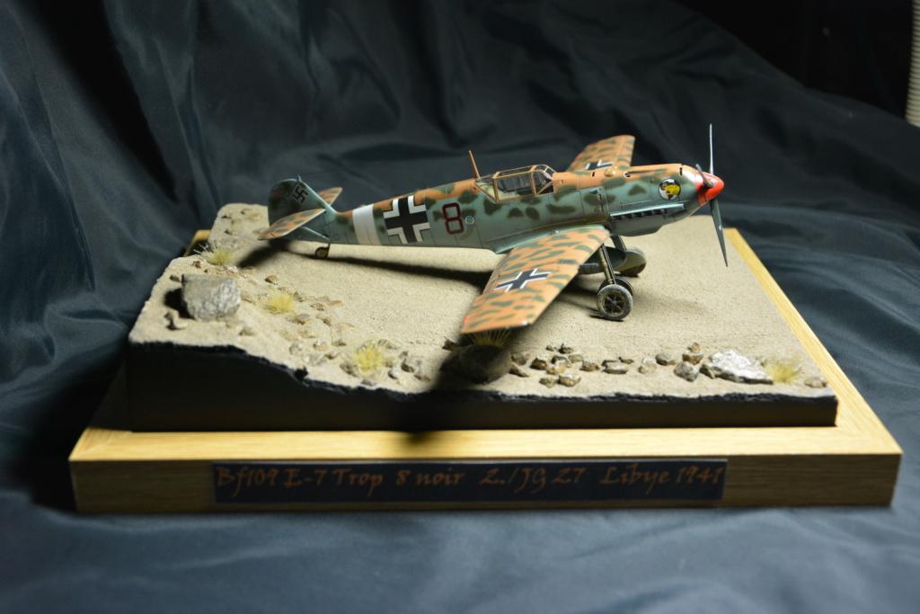 Bf109 E4/7 Trop 1/48 éduard Dsc_0111