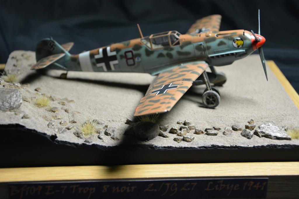 Bf109 E4/7 Trop 1/48 éduard Dsc_0122