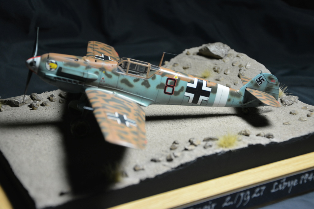 Bf109 E4/7 Trop 1/48 éduard Dsc_0126