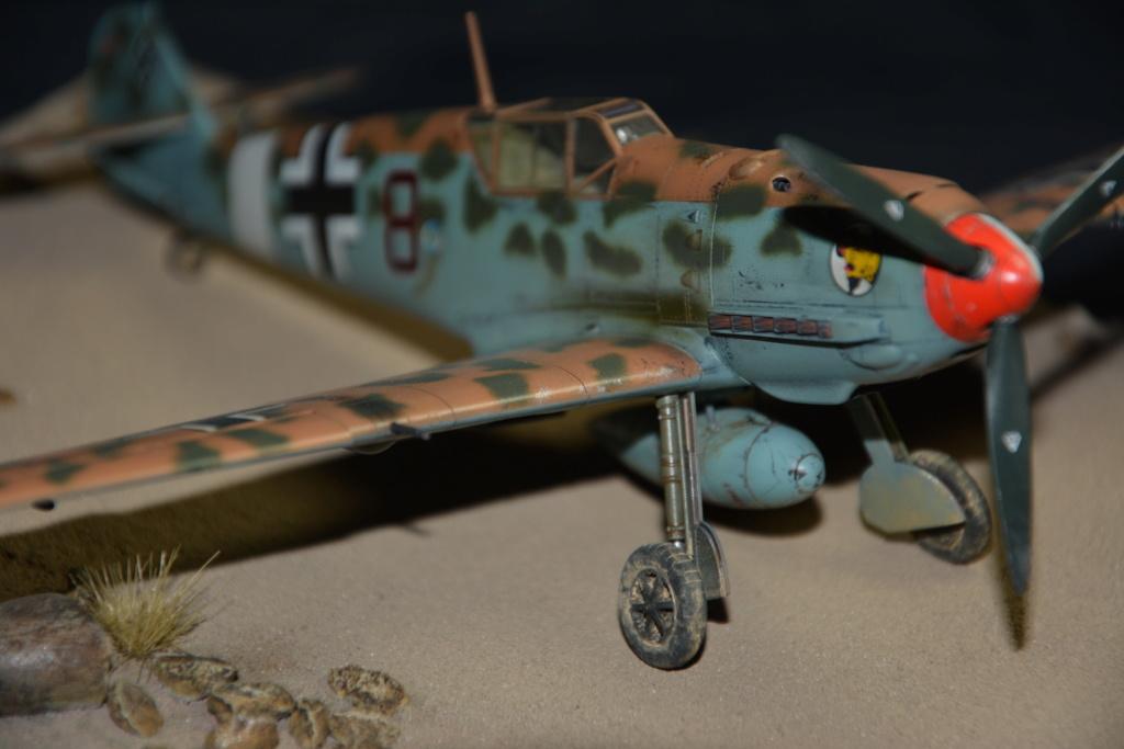 Bf109 E4/7 Trop 1/48 éduard Dsc_0128