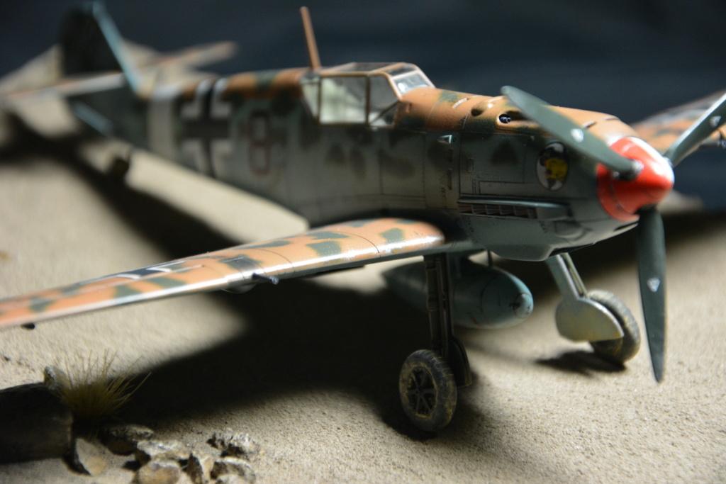 Bf109 E4/7 Trop 1/48 éduard Dsc_0130