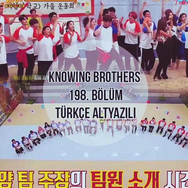 Knowing Brothers 198. Bölüm (Chuseok Özel) [Türkçe Altyazılı] Kb19811
