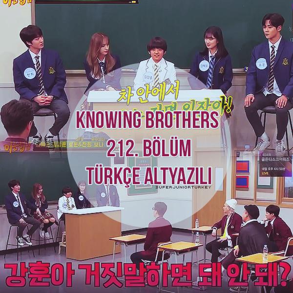 Knowing Brothers 212. Bölüm (Kim Hye-yoon, SF9 (Rowoon, Chani), Bona , Kim Kang-hoon  [Türkçe Altyazılı] Kb21210