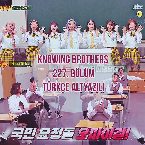 Knowing Brothers 227. Bölüm (Oh My girl) [Türkçe Altyazılı] Kb22510