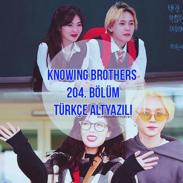 Knowing Brothers 204. Bölüm (HyunA, Dawn) [Türkçe Altyazılı] Kbhyun10