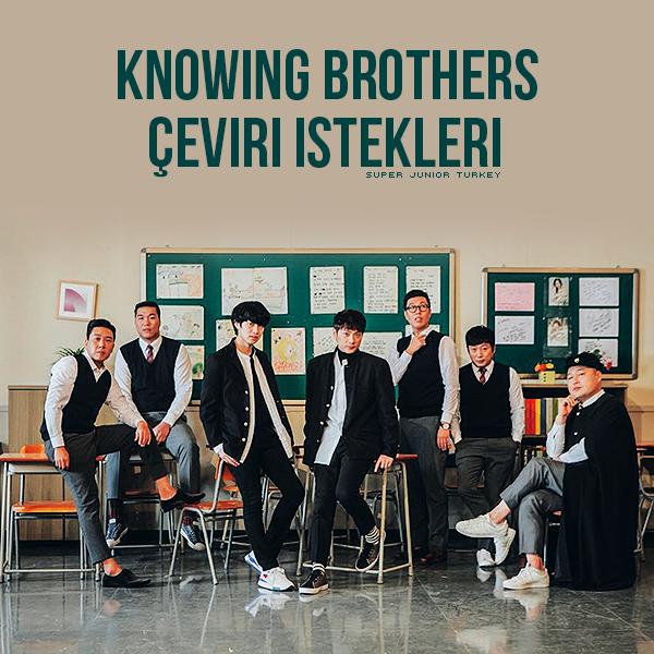 Knowing Brothers Çeviri İstekleri Knowin10