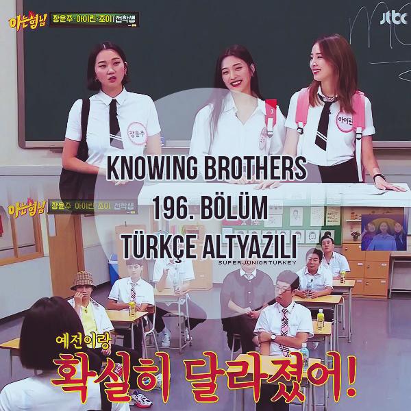 Knowing Brothers 196. Bölüm (Jang Yoon Ju, Joy, Irene Kim) [Türkçe Altyazılı] Rv10