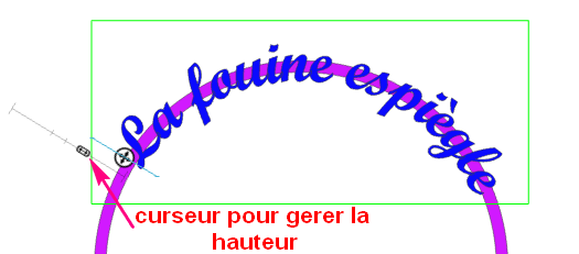 Texte sur une courbe (récalcitrant) Textec11