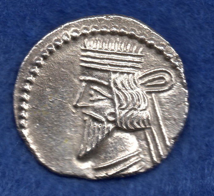 Dracma de Artabanos II. Partia (10-40 d.C) Rob_1612