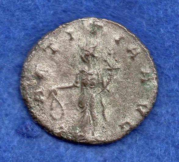 Antoniniano de Claudio II. LAETITIA AVG. Siscia Rob_6_11