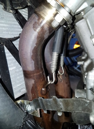 [Vendue] Kawasaki ZX6R - 2005 - ! Huile dans collecteur ! - 1400€ 67528910