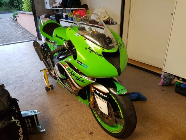 [Vendue] Kawasaki ZX6R - 2005 - ! Huile dans collecteur ! - 1400€ 67891110