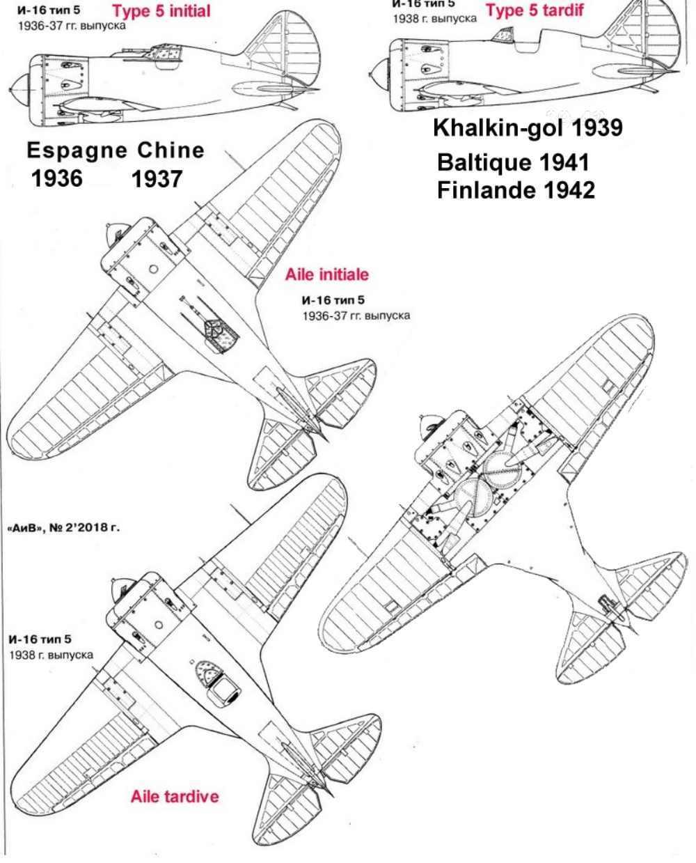 Polikarpov I-16. Du proto au I-185. P&J, Amodel, ICM , ArtModel , Eastern Express MSD 1/72.  - Page 2 01_pla10