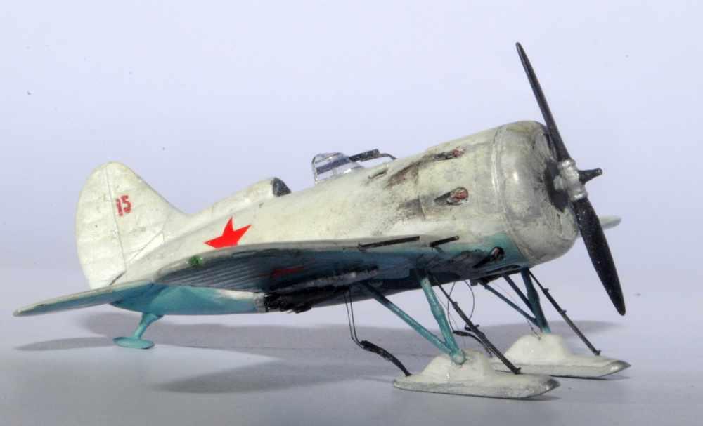 Polikarpov I-16. Du proto au I-185. P&J, Amodel, ICM , ArtModel , Eastern Express MSD 1/72.  - Page 2 07ski10