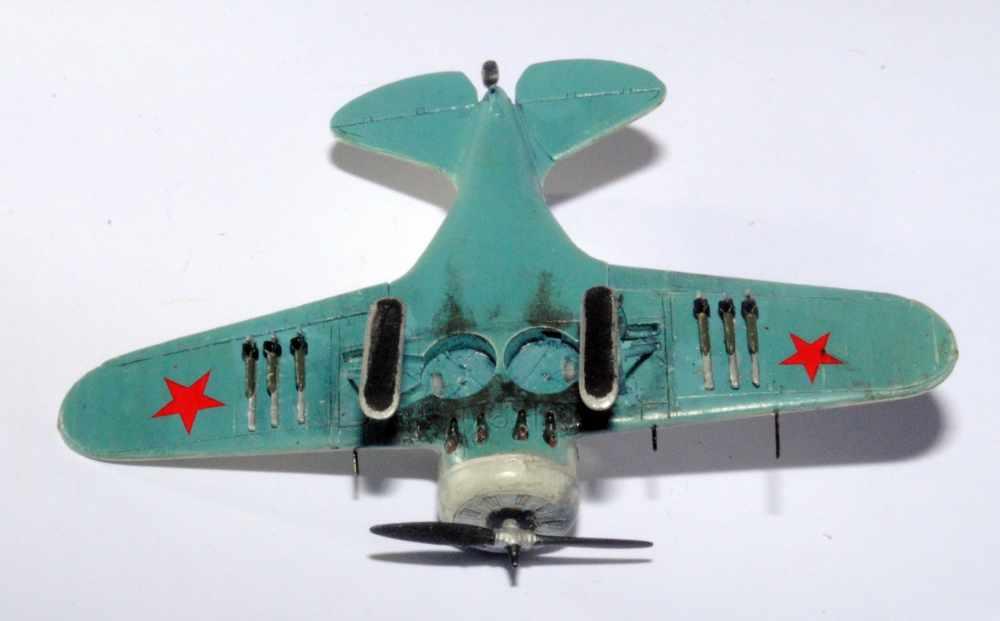 Polikarpov I-16. Du proto au I-185. P&J, Amodel, ICM , ArtModel , Eastern Express MSD 1/72.  - Page 2 09ski10
