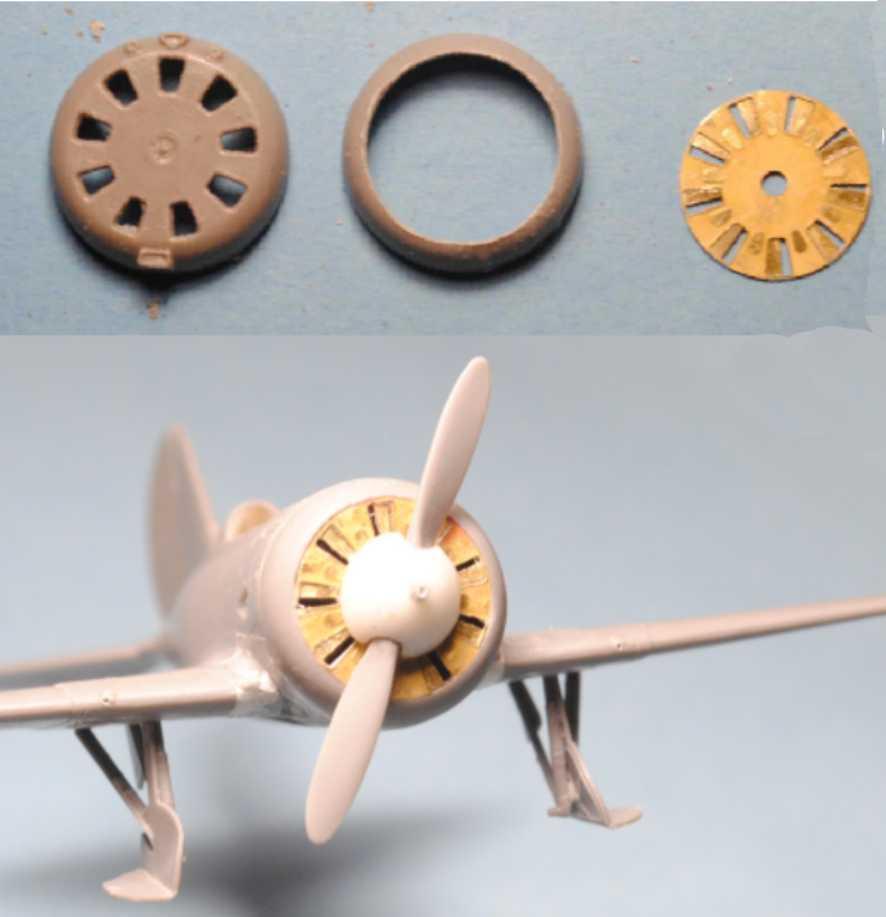 Polikarpov I-16. Du proto au I-185. P&J, Amodel, ICM , ArtModel , Eastern Express MSD 1/72.  - Page 2 13-cap10