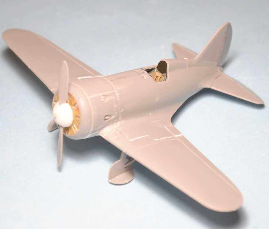 Polikarpov I-16. Du proto au I-185. P&J, Amodel, ICM , ArtModel , Eastern Express MSD 1/72.  - Page 2 14-fin10