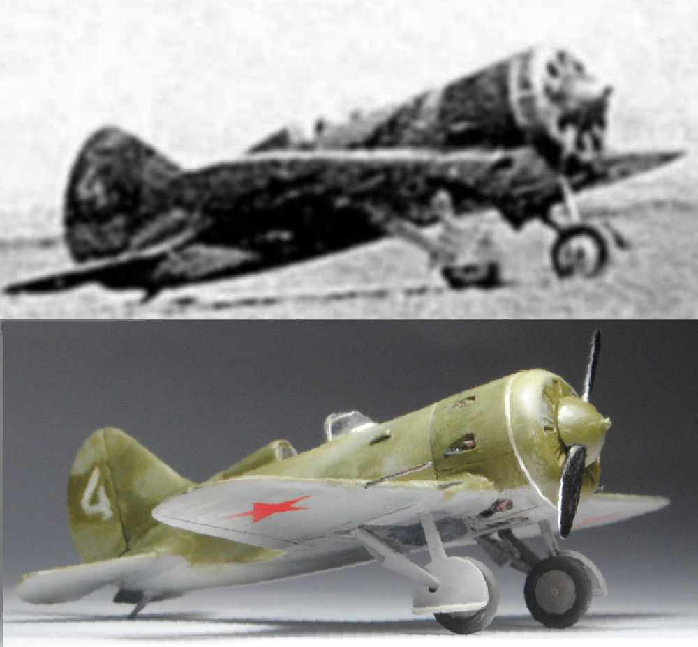 Polikarpov I-16. Du proto au I-185. P&J, Amodel, ICM , ArtModel , Eastern Express MSD 1/72.  - Page 2 17kg12