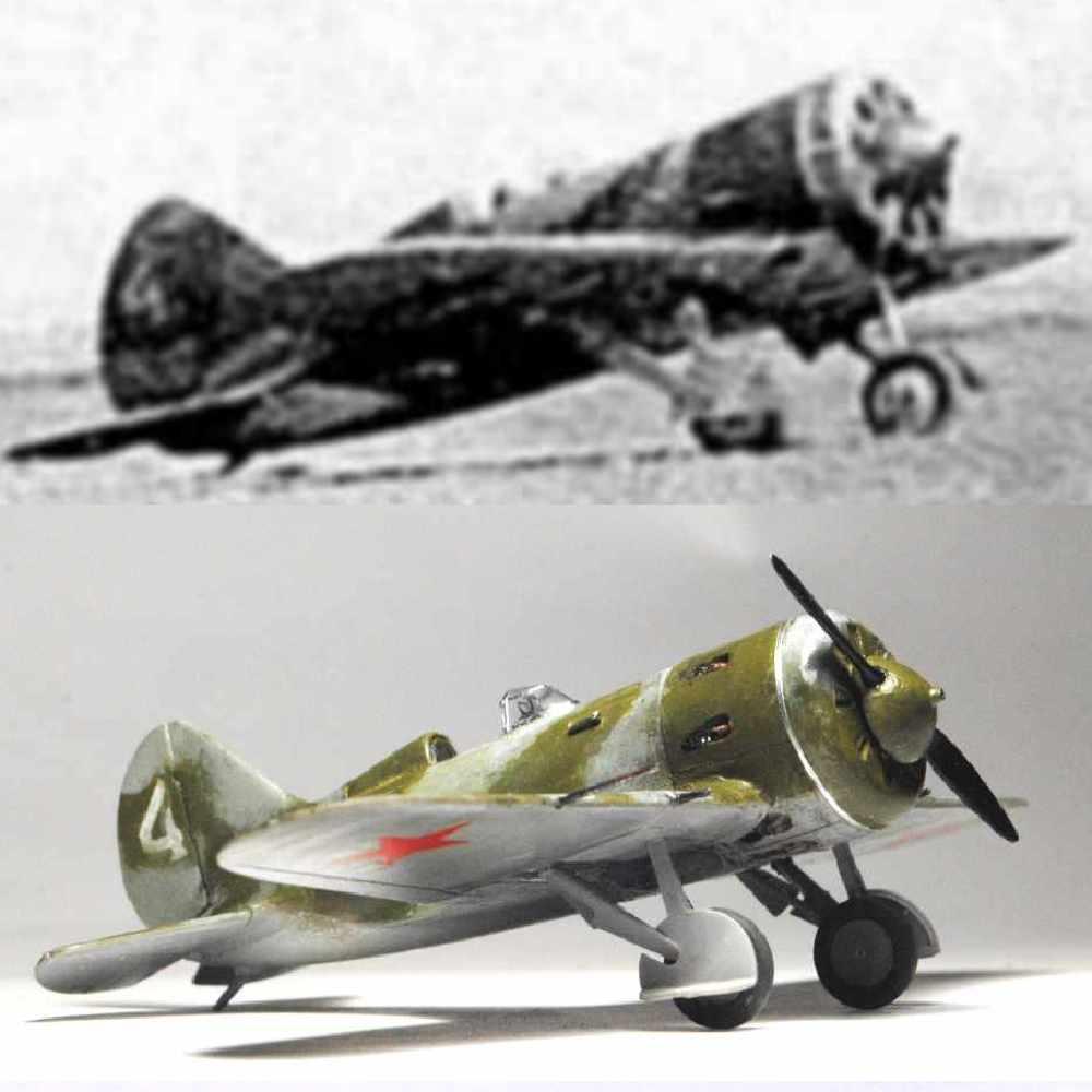 Polikarpov I-16. Du proto au I-185. P&J, Amodel, ICM , ArtModel , Eastern Express MSD 1/72.  - Page 2 17phot12