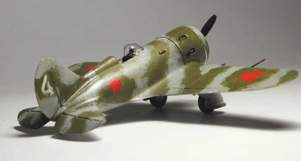Polikarpov I-16. Du proto au I-185. P&J, Amodel, ICM , ArtModel , Eastern Express MSD 1/72.  - Page 2 3510
