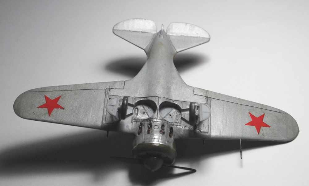 Polikarpov I-16. Du proto au I-185. P&J, Amodel, ICM , ArtModel , Eastern Express MSD 1/72.  - Page 2 4010