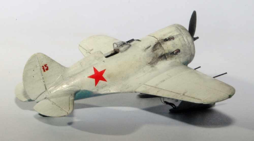 Polikarpov I-16. Du proto au I-185. P&J, Amodel, ICM , ArtModel , Eastern Express MSD 1/72.  - Page 2 Ard2sk10