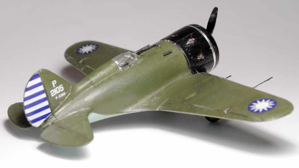 Polikarpov I-16. Du proto au I-185. P&J, Amodel, ICM , ArtModel , Eastern Express MSD 1/72.  - Page 2 Fini-012