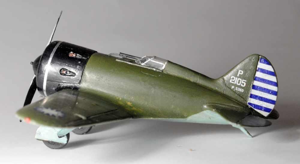 Polikarpov I-16. Du proto au I-185. P&J, Amodel, ICM , ArtModel , Eastern Express MSD 1/72.  - Page 2 Fini-016