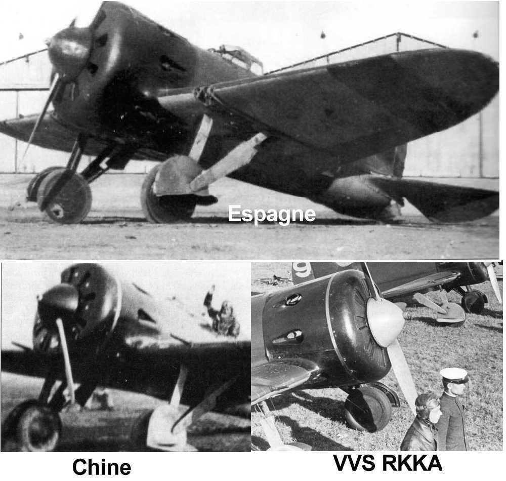 Polikarpov I-16. Du proto au I-185. P&J, Amodel, ICM , ArtModel , Eastern Express MSD 1/72.  - Page 2 Jantes10