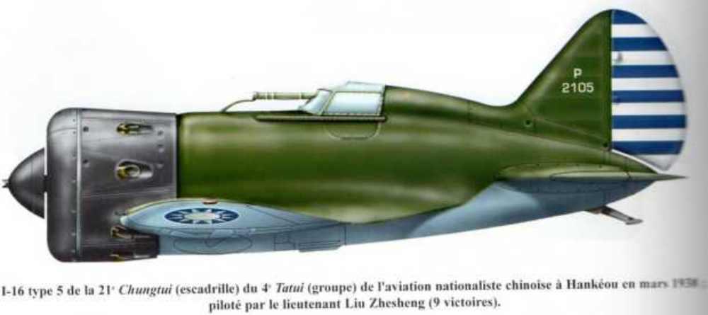 Polikarpov I-16. Du proto au I-185. P&J, Amodel, ICM , ArtModel , Eastern Express MSD 1/72.  - Page 2 T-5-ch10