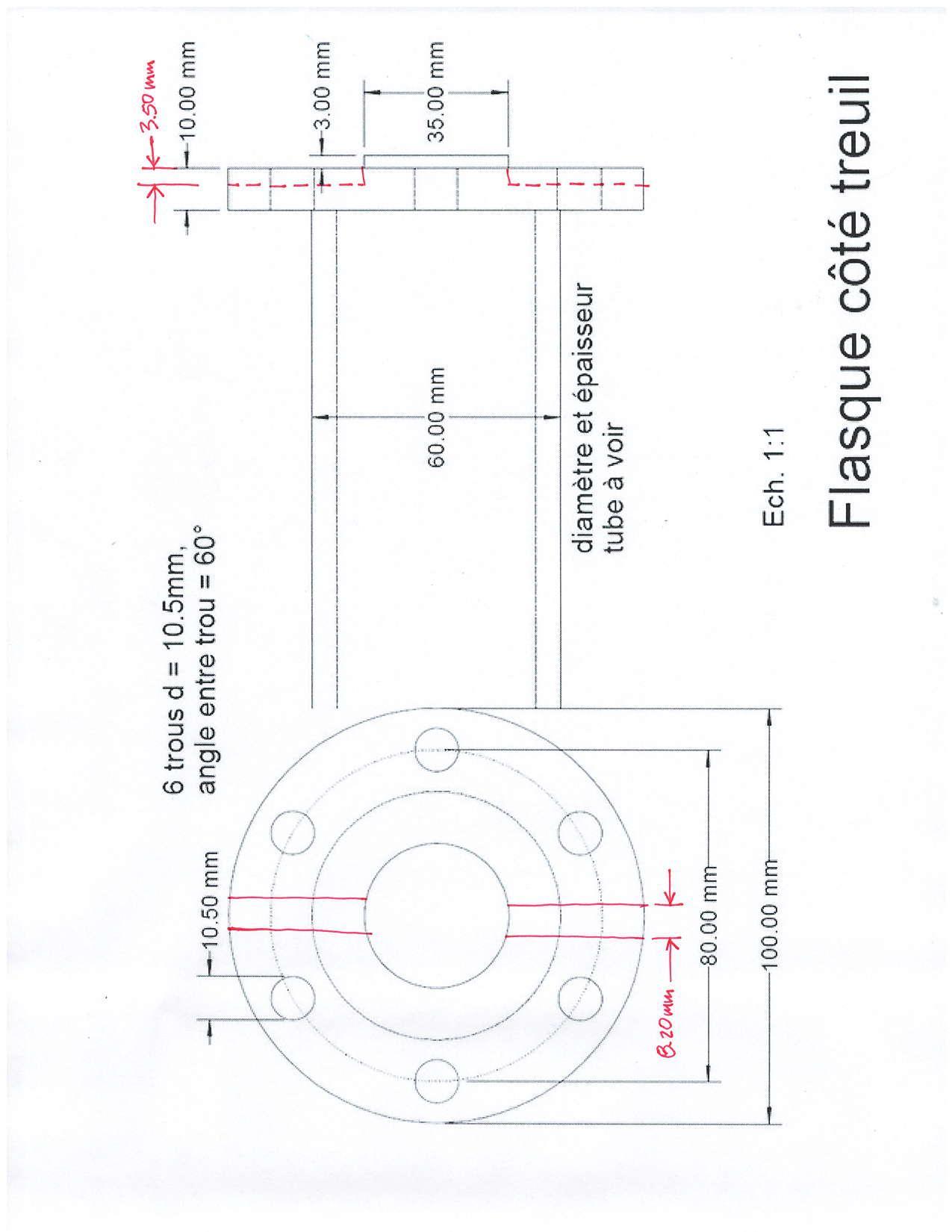 Adaptateur de prise de force Werner M62. Pto_ad10