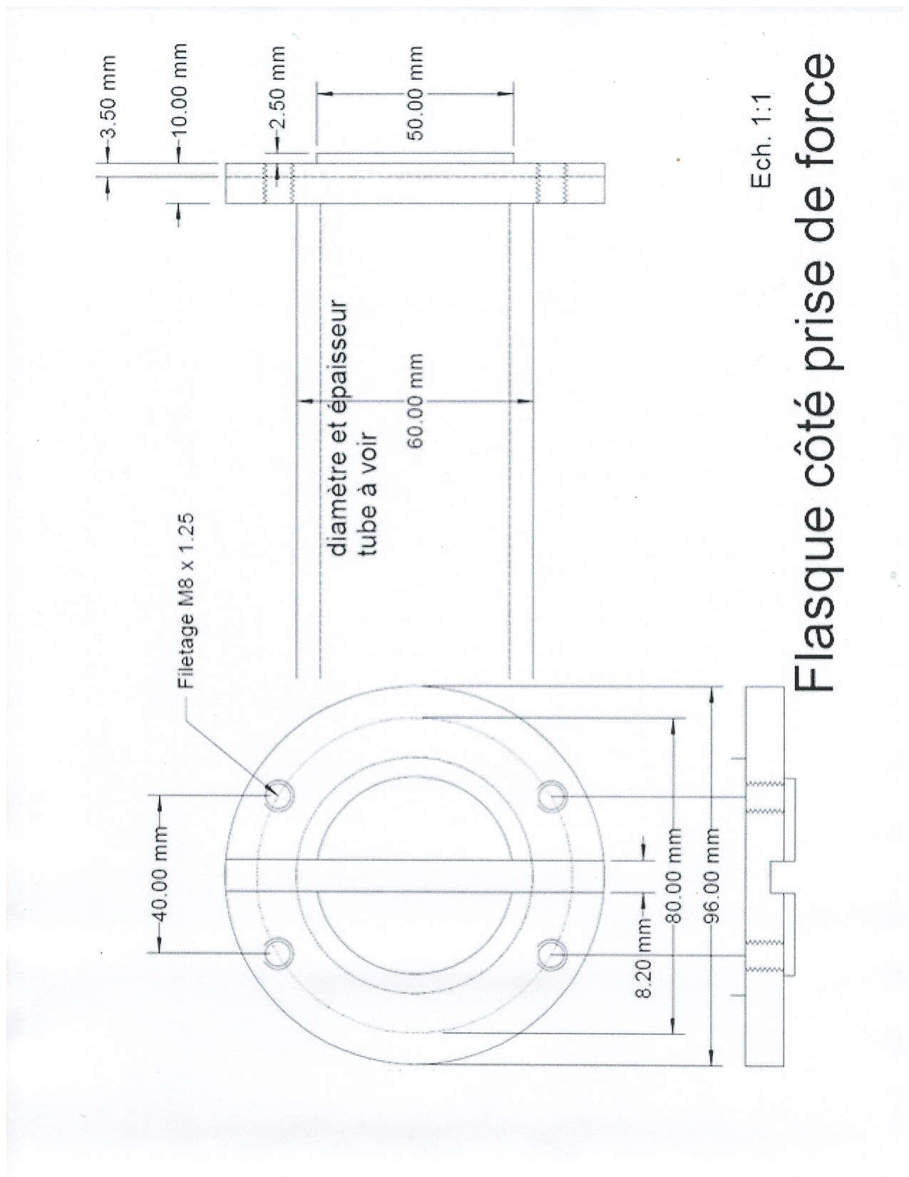 Adaptateur de prise de force Werner M62. Pto_ad11