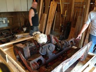 Remise en état des équipements forestiers Werner pour 406. Werner10