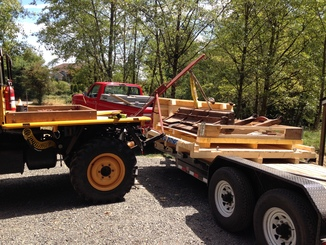 Remise en état des équipements forestiers Werner pour 406. Werner12