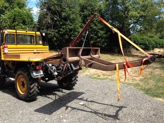 Remise en état des équipements forestiers Werner pour 406. Werner13