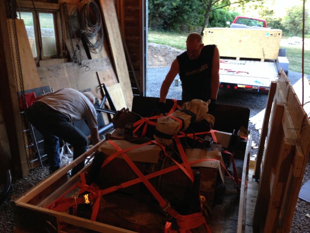 Remise en état des équipements forestiers Werner pour 406. Werner15