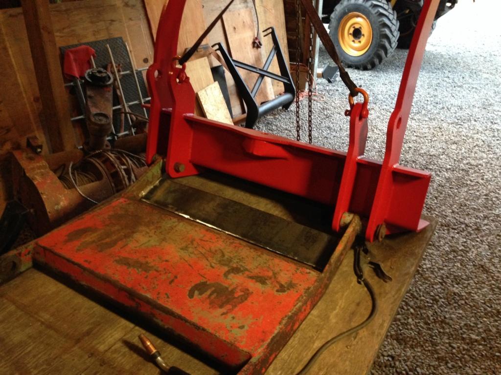 Remise en état des équipements forestiers Werner pour 406. Werner16