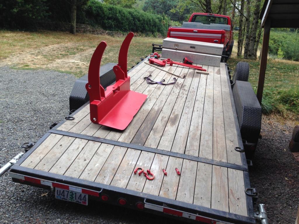 Remise en état des équipements forestiers Werner pour 406. Werner17